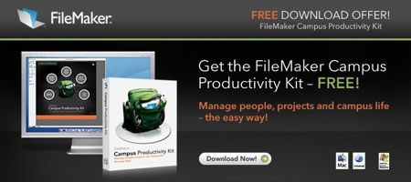 Filemaker Campus Productivity Kit